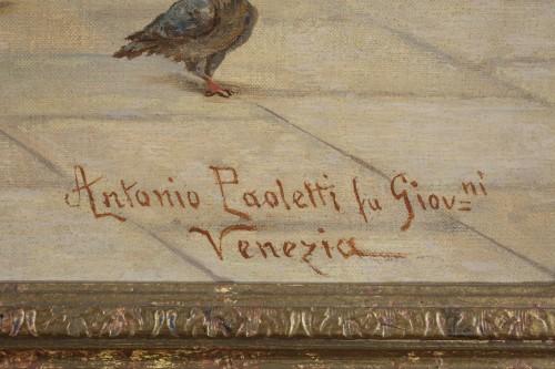 Pair of paintings  - Antonio Ermolao Paoletti (1834 - 1912) - Napoléon III