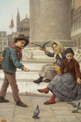 Napoléon III - Pair of paintings  - Antonio Ermolao Paoletti (1834 - 1912)