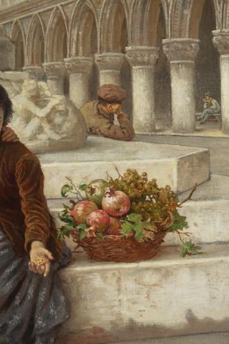 Antiquités - Pair of paintings  - Antonio Ermolao Paoletti (1834 - 1912)