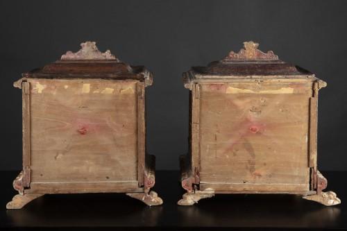 <= 16th century - Pair Of Votive Tears, 16th century Romanesque art