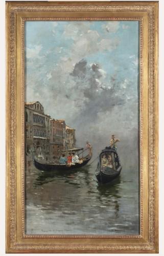 Walk in Venice - Carlo Brancaccio (1861 - 1920)