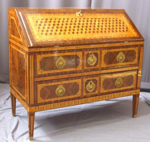 A Louis XVI Bureau de pente  - 18th century