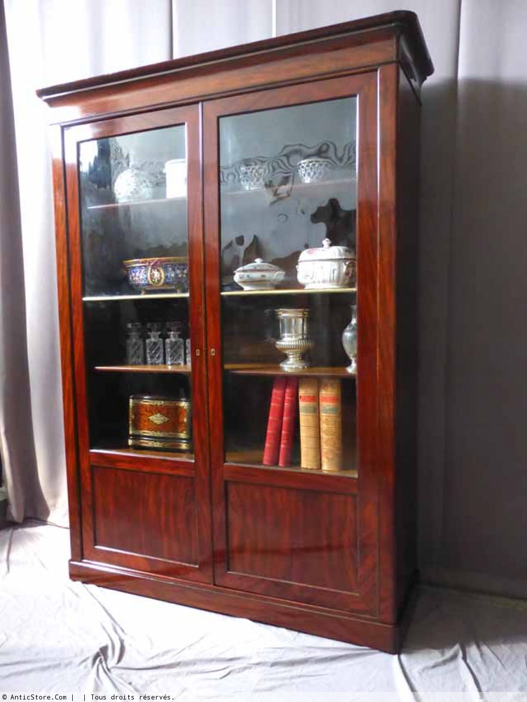biblioth que louis philippe xixe si cle. Black Bedroom Furniture Sets. Home Design Ideas