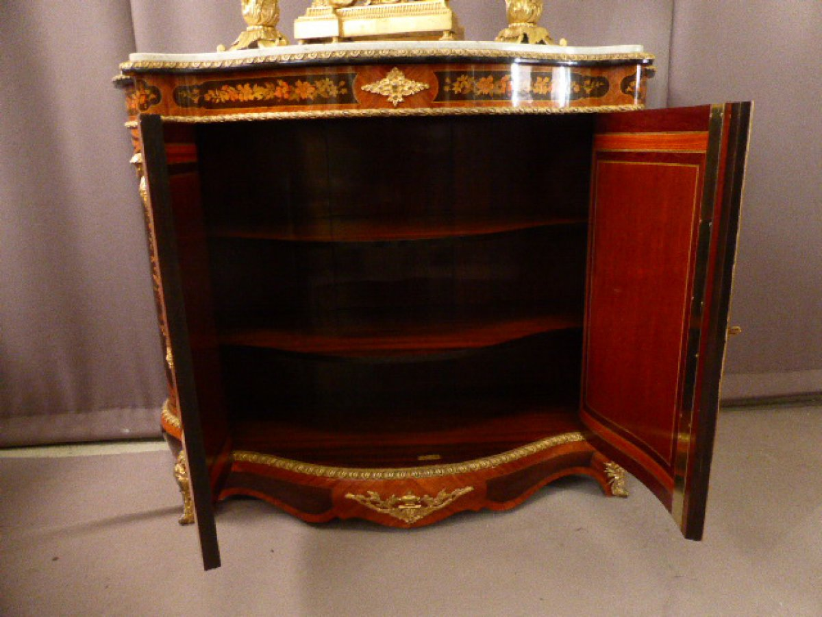 Buffet meuble d 39 appui marquet napol on iii xixe si cle for Meuble napoleon 3