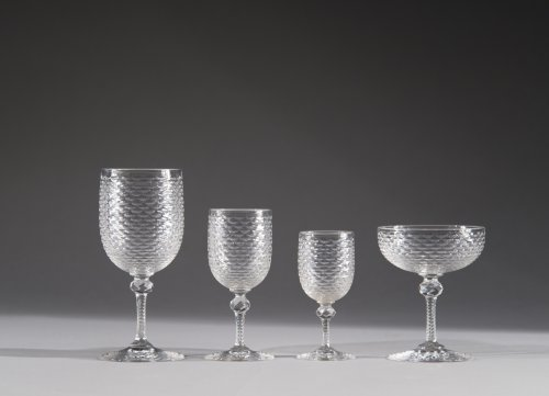 crystal glasses service 42 pieces