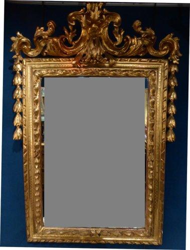 Ensemble miroir et console napol on iii xixe si cle n for Miroir et console