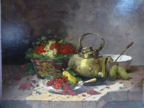 Emile Godchaux (1860-1938) - Nature morte