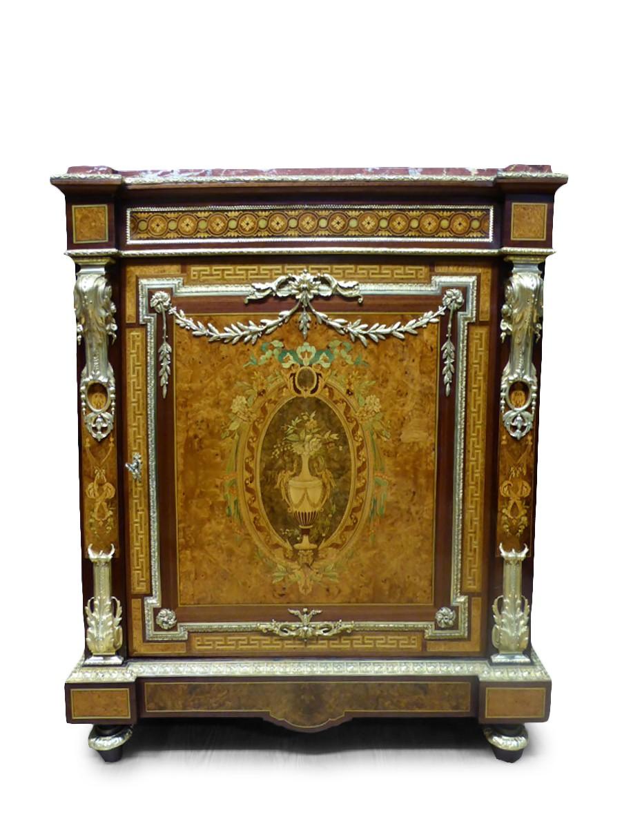 meuble dappui en marqueterie dpoque napolon iii