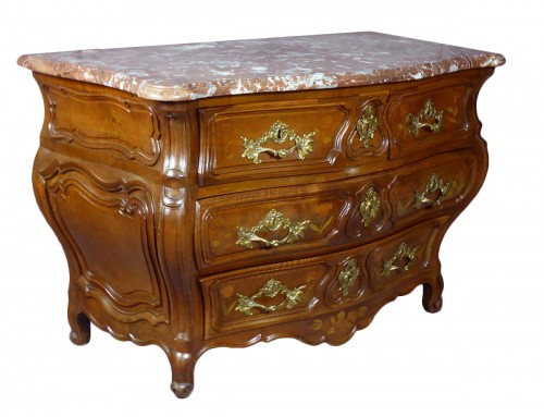 Commode tombeau époque Louis XV