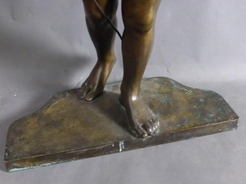 Antiquités - Francois Louis Virieux - Child with raised arm