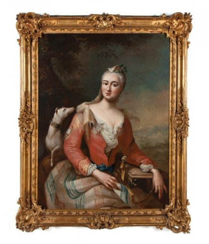 Marie-Anne de Saxe attribued to Georg Desmarées -circa 1750