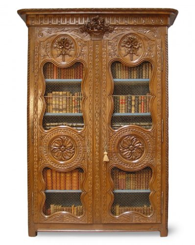 Bibliothèque cabinet - Louis XVI period