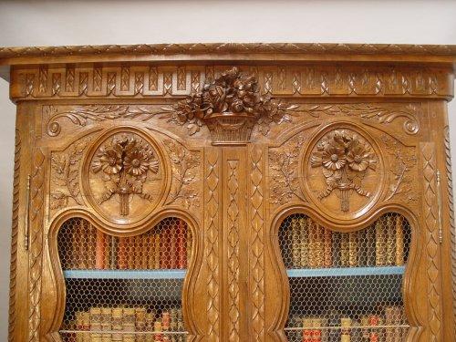 Furniture  - Bibliothèque cabinet - Louis XVI period