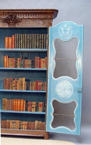 Bibliothèque cabinet - Louis XVI period -