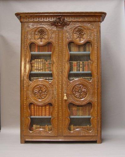 18th century - Bibliothèque cabinet - Louis XVI period