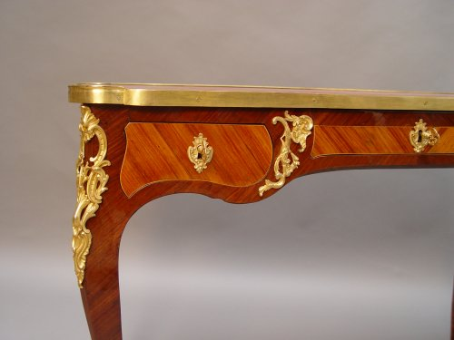 Furniture  - Bureau plat Louis XV period