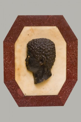 Moorehead profile - Italy end of XVIIth century - Sculpture Style