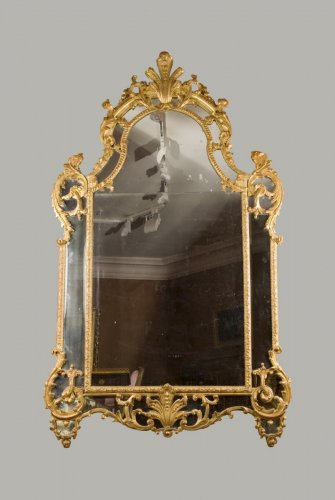 Regence period mirror - Mirrors, Trumeau Style French Regence