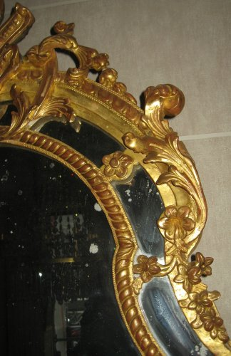 Regence period mirror - French Regence