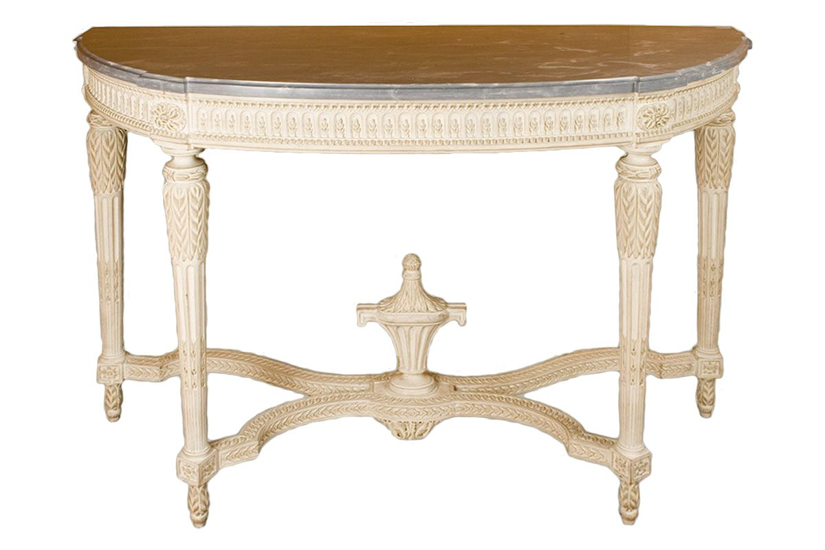 Semi-circular console - end of Louis XVI period - Ref.64450