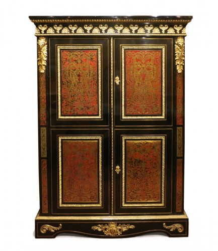 Boulle style Armoire, late 19th century