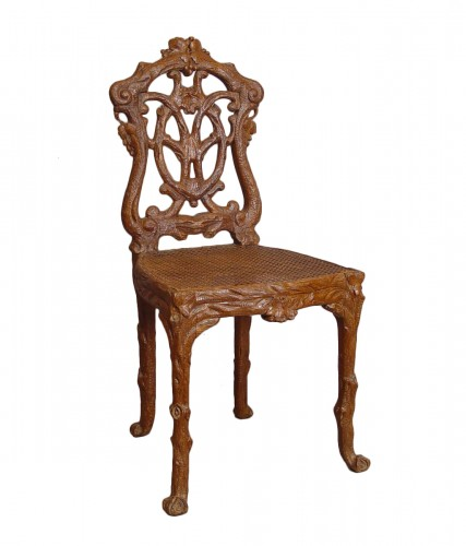 Set of six chairs from the Black Forest