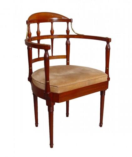 Mahogany armchair - beginning XXth century