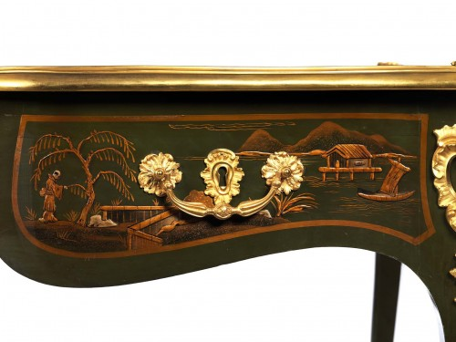 19th century - bureau plat attributed to Bernel
