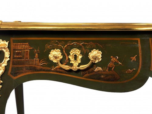 bureau plat attributed to Bernel - Napoléon III