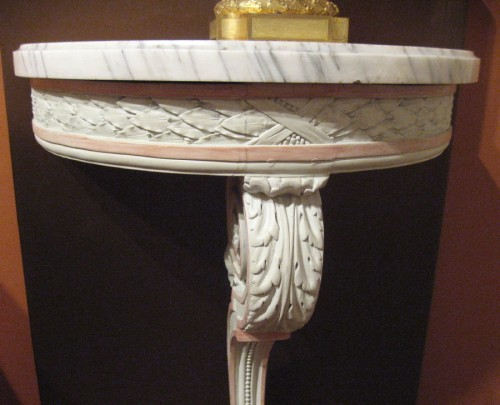 pair of consoles louis XVI period - Furniture Style Louis XVI