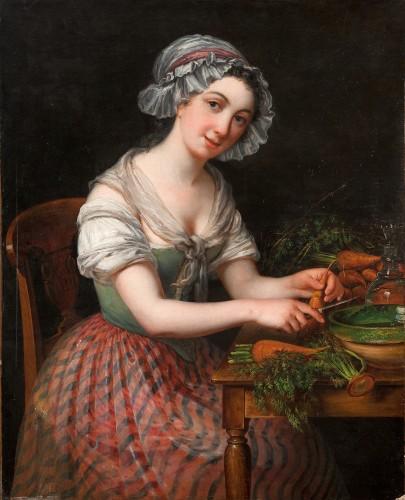 the kitchen girl