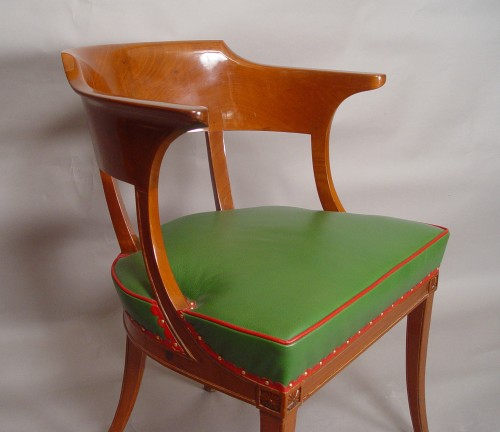 desk armchair stamped Jacob - Seating Style Empire