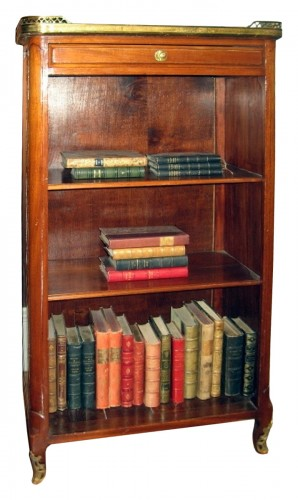 open bookcase called bibus stamped j.f. dubut