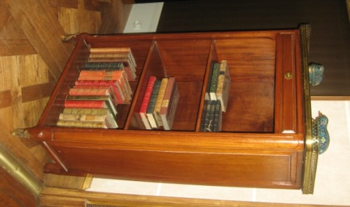 open bookcase called bibus stamped j.f. dubut - Furniture Style Transition