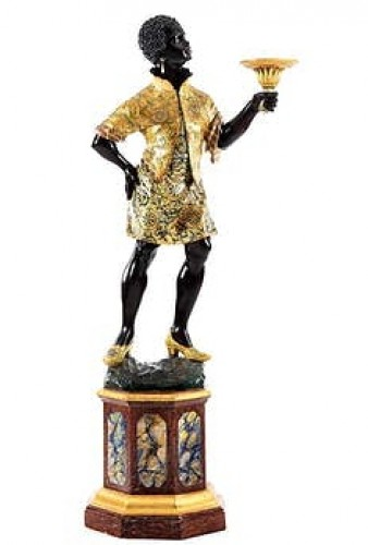A late 19th century Venetian moorish torch - Napoléon III
