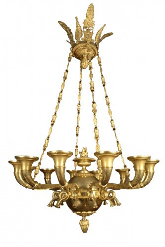 chandelier with twelve lights