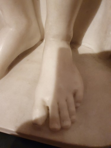 Sculpture  - friendship sacrificing on the altar of love attributed to de Carlis