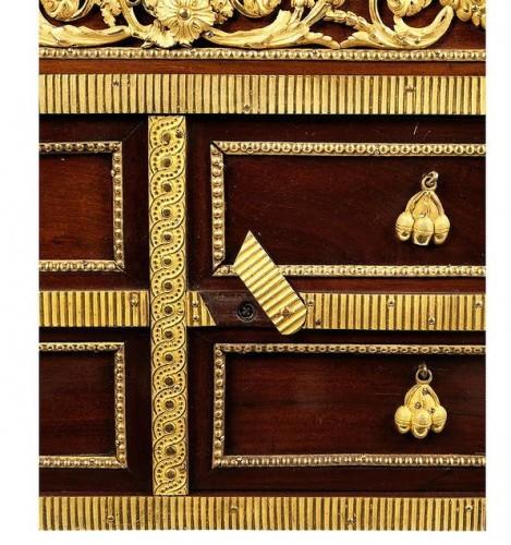 bonheur du jour- god's prayer stamped Garnier - Louis XVI