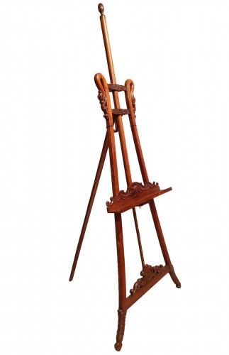 large easel of presentation - 19th century