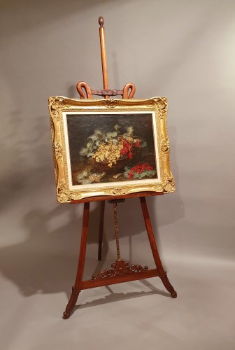 Furniture  - large easel of presentation - 19th century