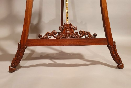 large easel of presentation - 19th century -