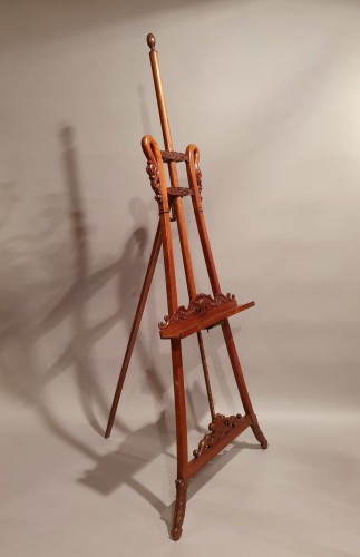 19th century - large easel of presentation - 19th century