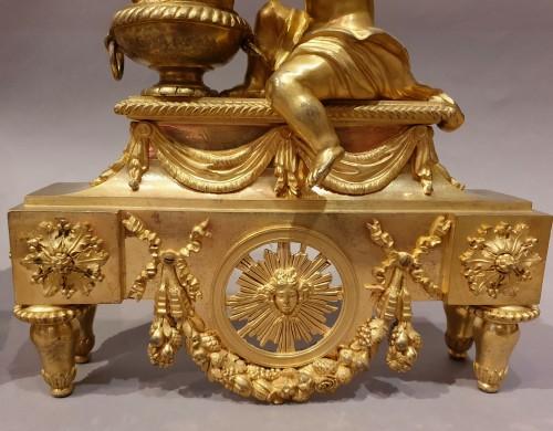 Decorative Objects  - Paire de chenets d'époque Louis XVI