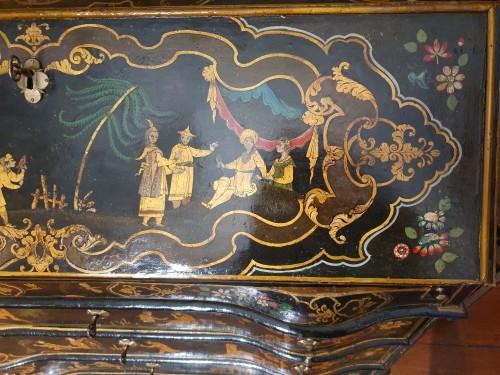 Venetian lacquered  desk - 18th century -