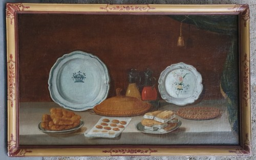 Paintings & Drawings  - Pair of still life paintings - French school of the 18th century