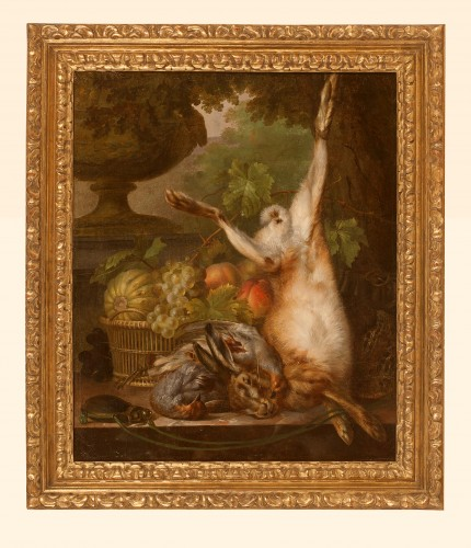 hunting trophy attributed to Michel Joseph Speeckaert - Paintings & Drawings Style
