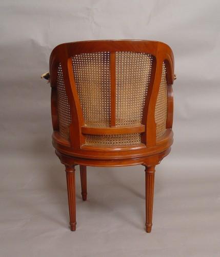 Seating  - desk armchair stamped henri jacob