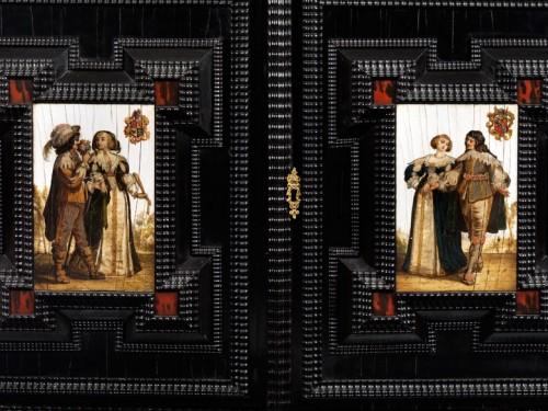 flemish cabinet 17th century -