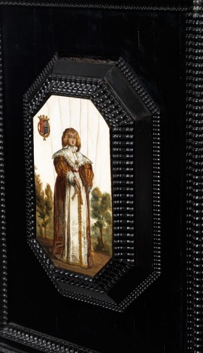 flemish cabinet 17th century - Louis XIII