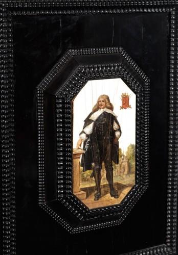 Louis XIII - flemish cabinet 17th century